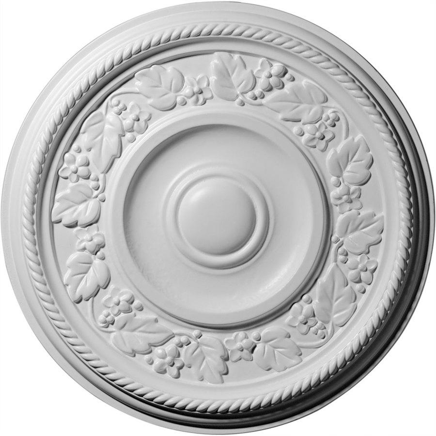 Ekena Millwork Tyrone 16.125-in x 16.125-in Polyurethane Ceiling Medallion