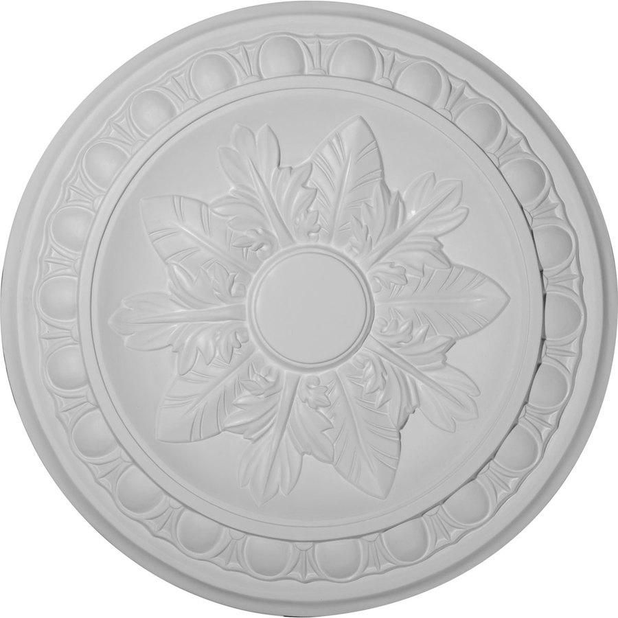 Ekena Millwork Exeter 17.75-in x 17.75-in Polyurethane Ceiling Medallion