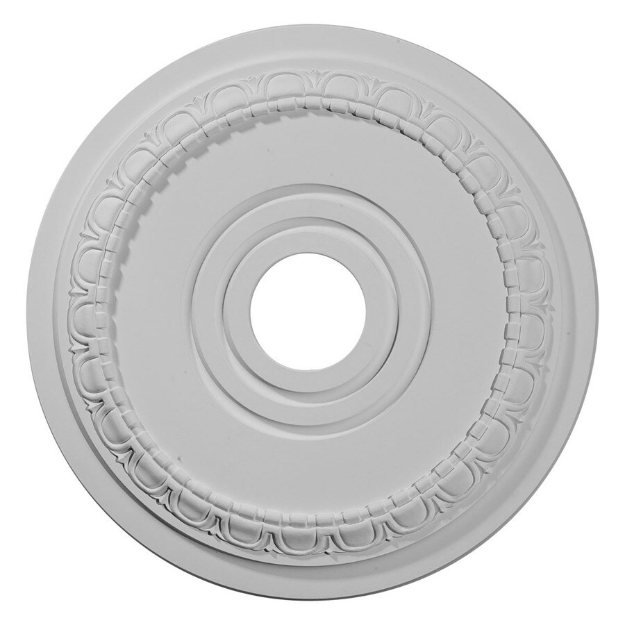 Ekena Millwork Munich 17.5-in x 17.5-in Polyurethane Ceiling Medallion