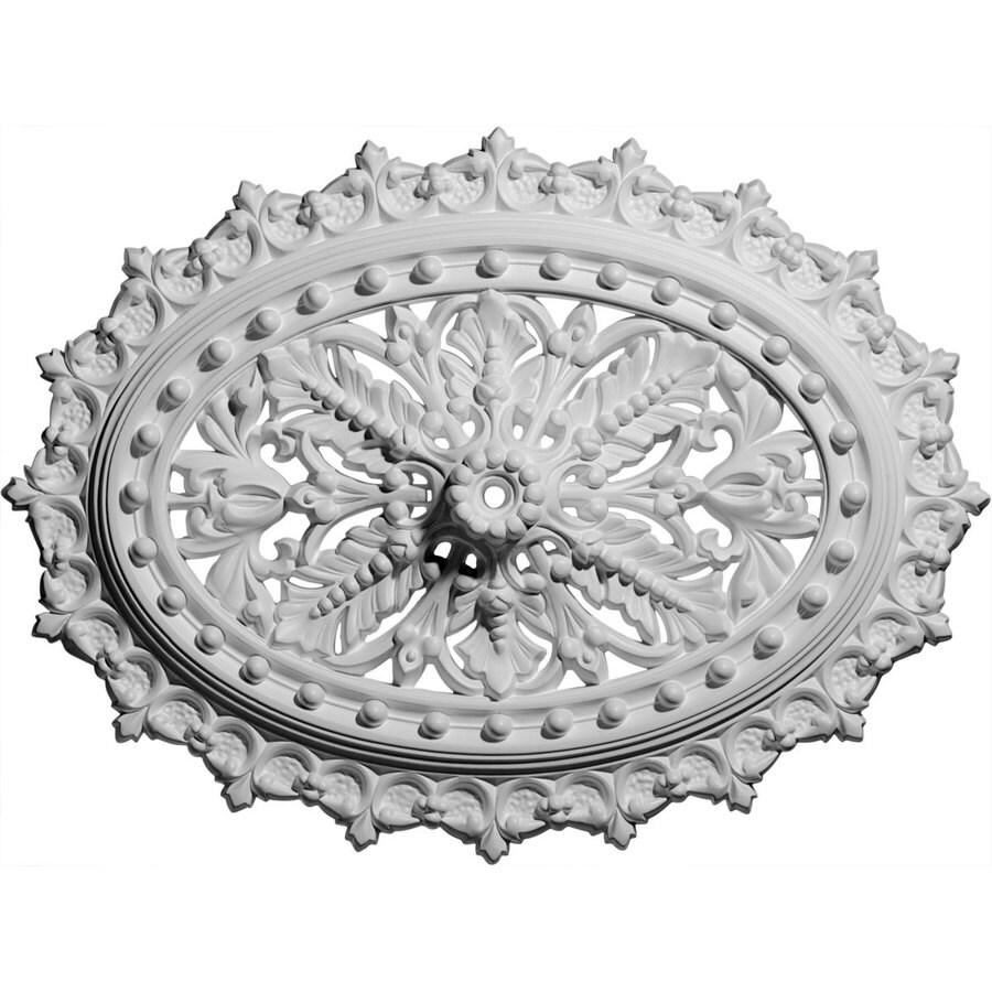 Ekena Millwork Sellek 25.25-in x 25.25-in Polyurethane Ceiling Medallion