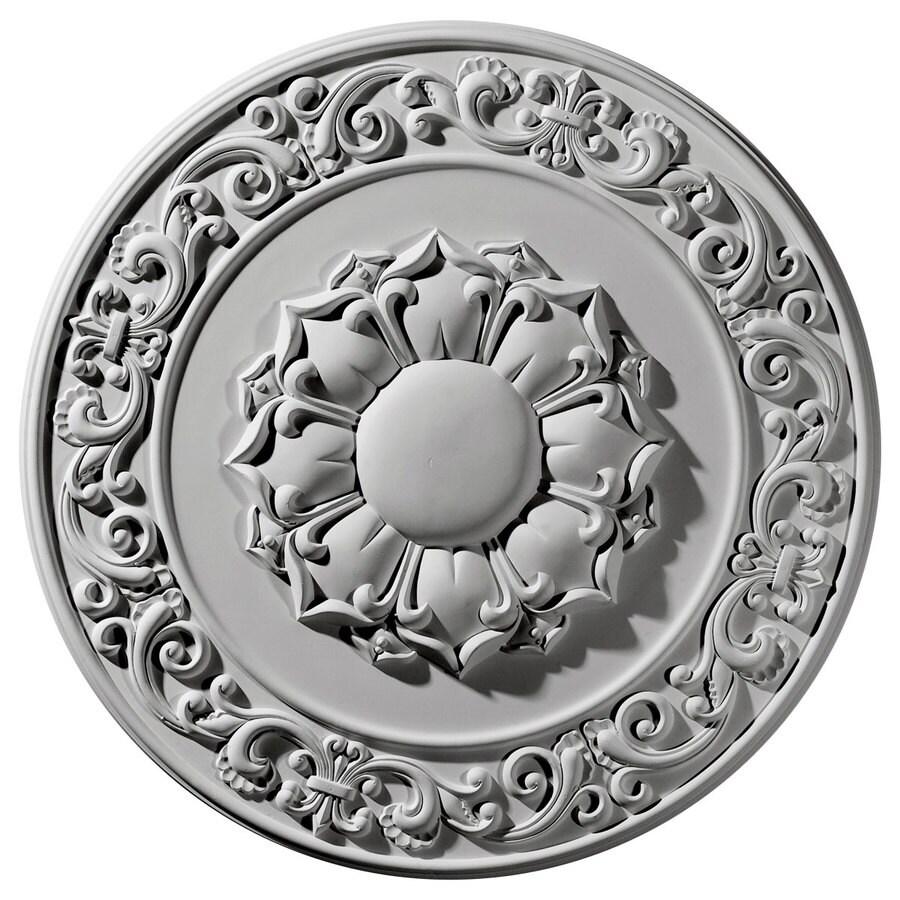 Ekena Millwork 27.75-in x 27.75-in Urethane Ceiling Medallion