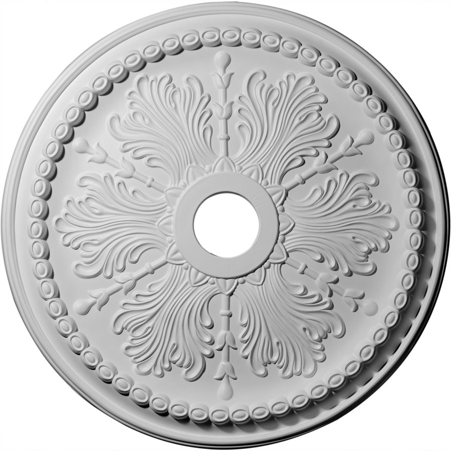 Ekena Millwork Winsor 27.5-in x 27.5-in Polyurethane Ceiling Medallion