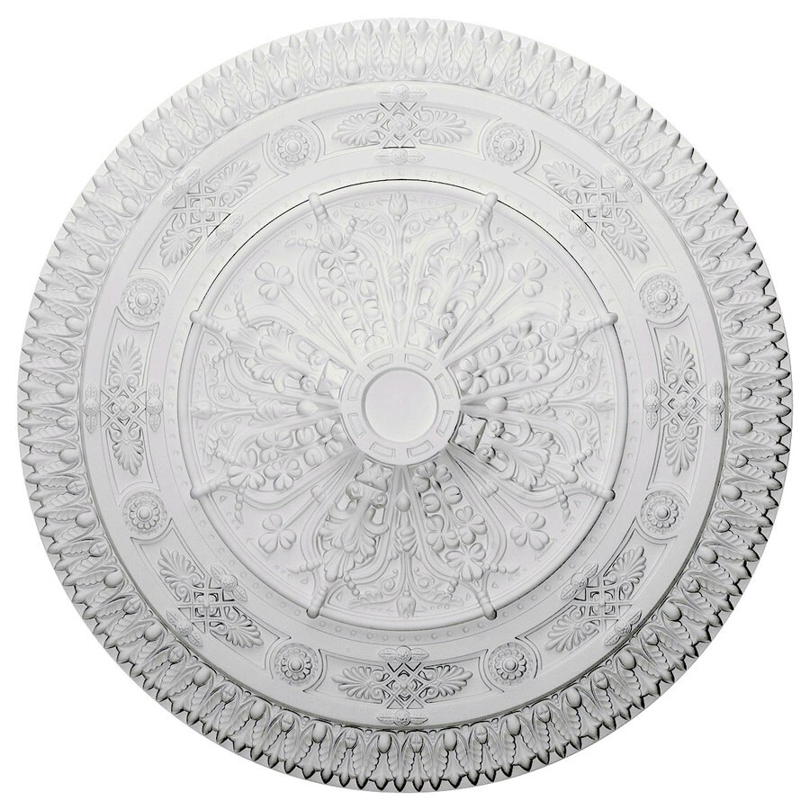 Ekena Millwork 37.5-in x 37.5-in Urethane Ceiling Medallion