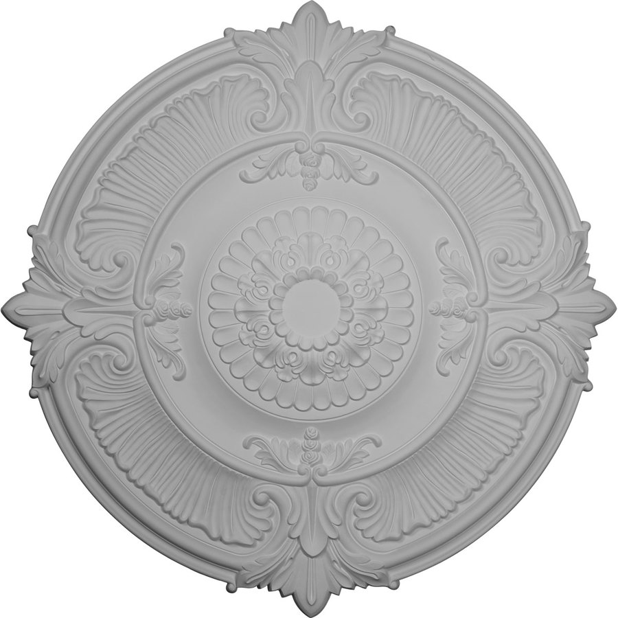 Ekena Millwork 53.5-in x 53.5-in Urethane Ceiling Medallion