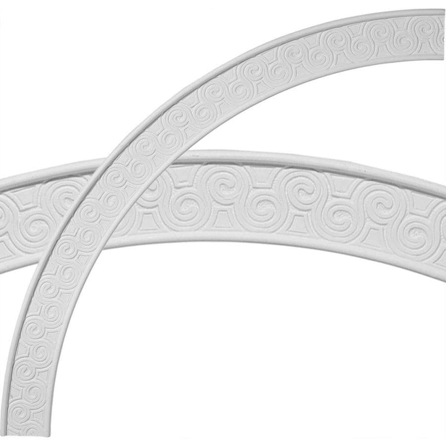 Ekena Millwork Bedford 2.75-in x 44.5-in Quarter Polyurethane Ceiling Ring