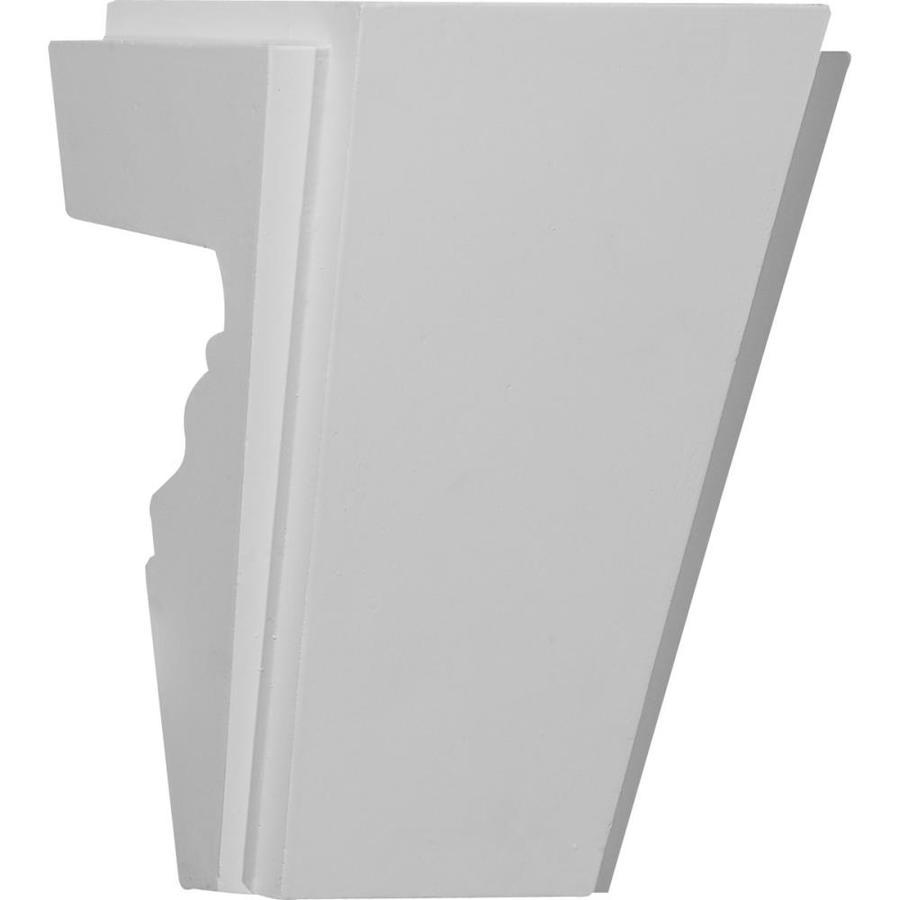 Ekena Millwork Bangor 5.75-in x 0.67-ft Urethane Keystone Entry Door Casing Accent