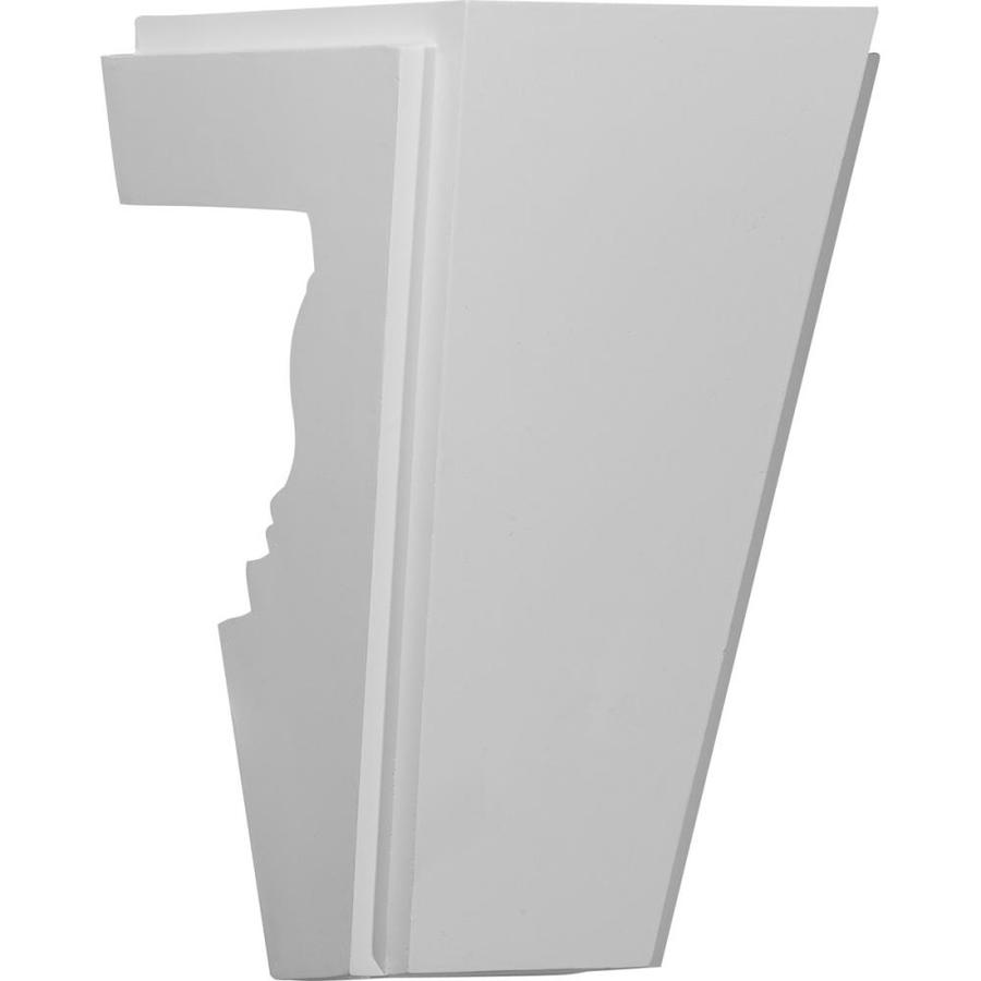 Ekena Millwork Chesterfield 8-in x 1.17-ft Urethane Keystone Entry Door Casing Accent