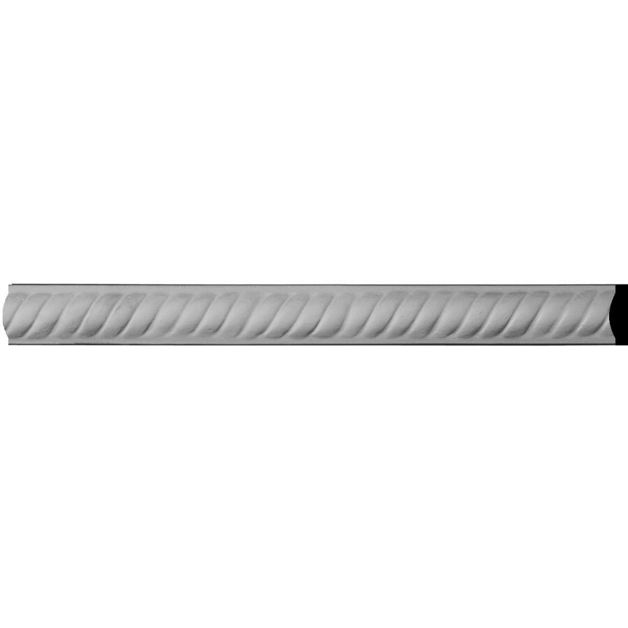 Ekena Millwork Alexandria Rope 1-in x 7.88-ft Polyurethane Connector Wall Panel Moulding