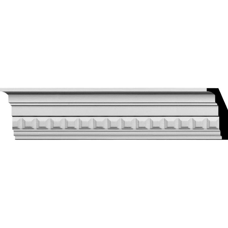 Ekena Millwork 3.5-in x 7.88-ft Polyurethane Sequential Crown Moulding
