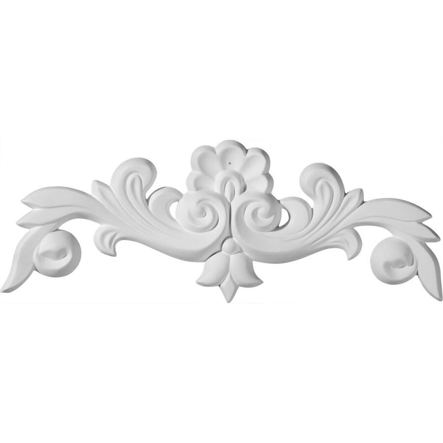 Ekena Millwork 10.625-in x 3.875-in Benson Urethane Applique