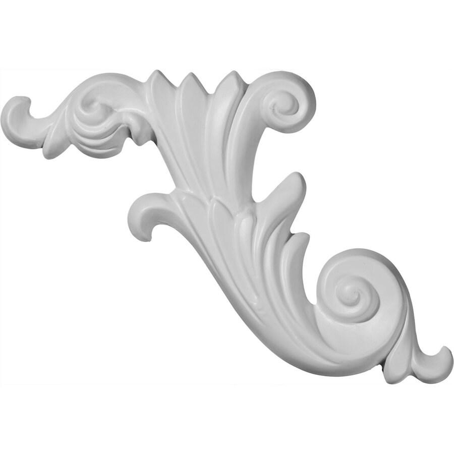 Ekena Millwork 15.75-in x 7.125-in Loera Urethane Applique