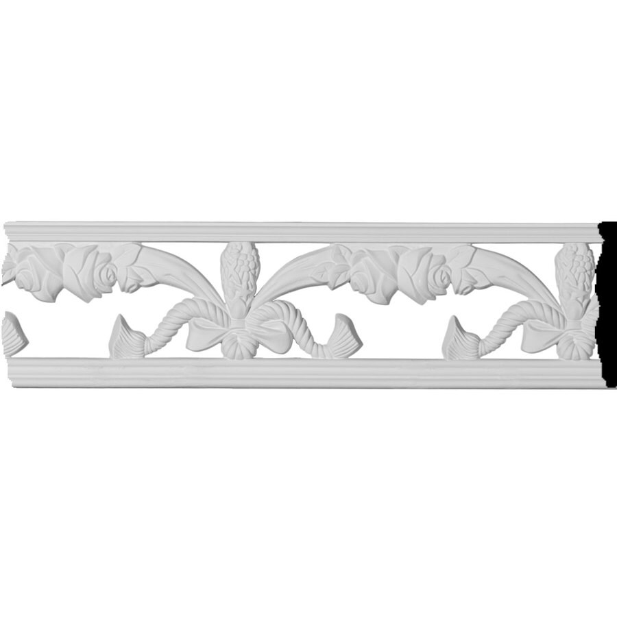 Ekena Millwork Fairfax 3.875-in x 8-ft Polyurethane Connector Wall Panel Moulding