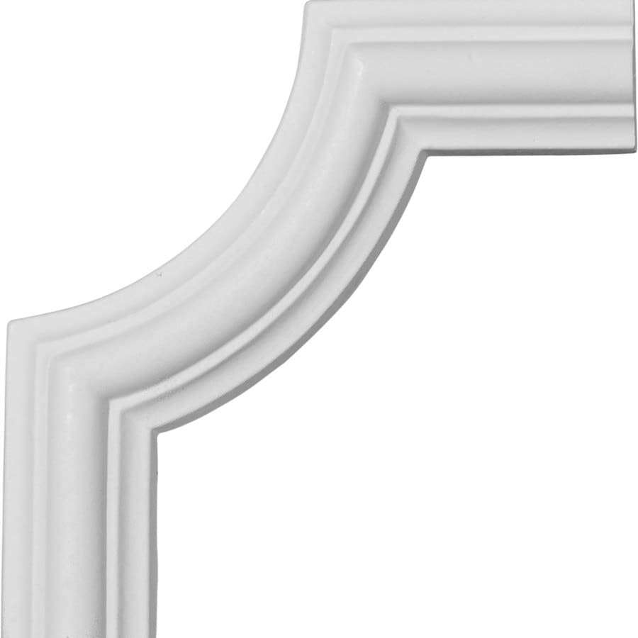 Ekena Millwork 4.125-in x 0.34-ft Polyurethane Panel Corner Picture Frame Moulding