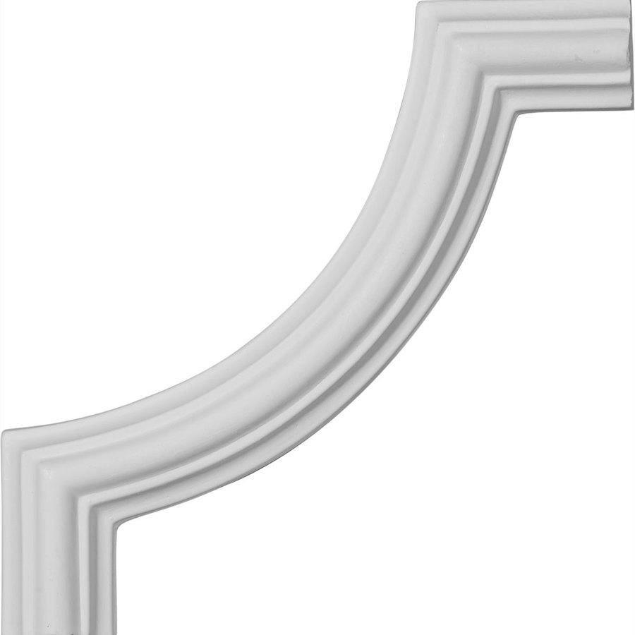 Ekena Millwork 5.125-in x 0.43-ft Polyurethane Panel Corner Picture Frame Moulding