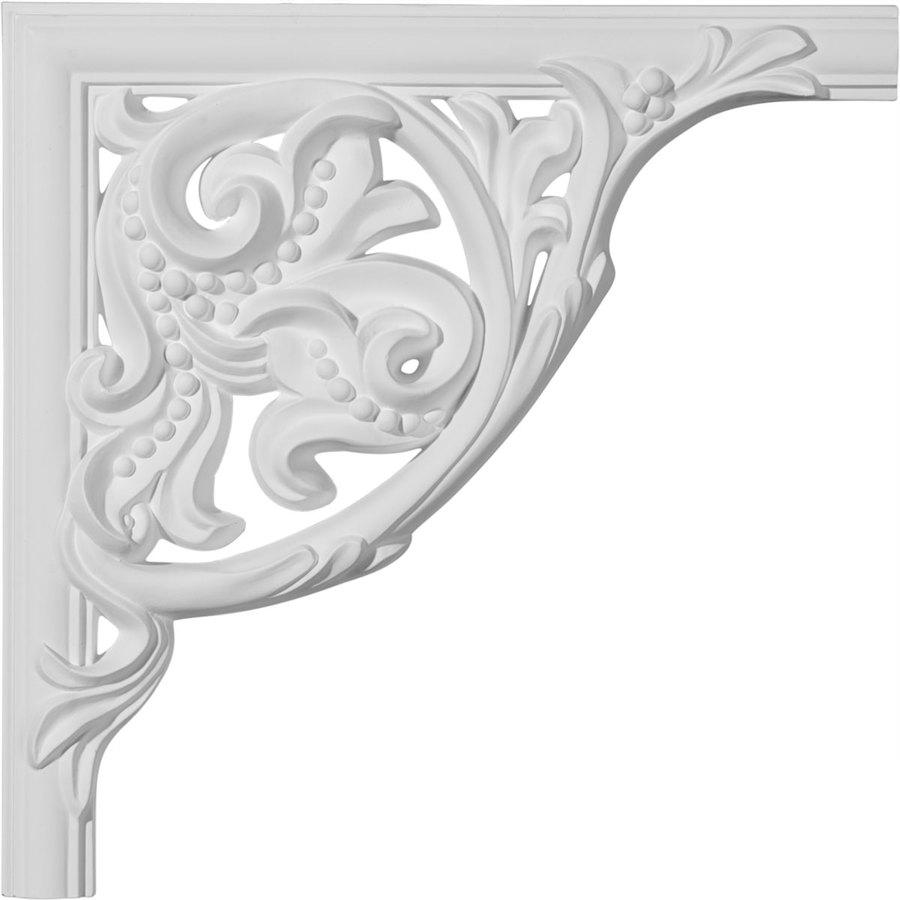 Ekena Millwork 11-in x 0.92-ft Polyurethane Panel Corner Picture Frame Moulding