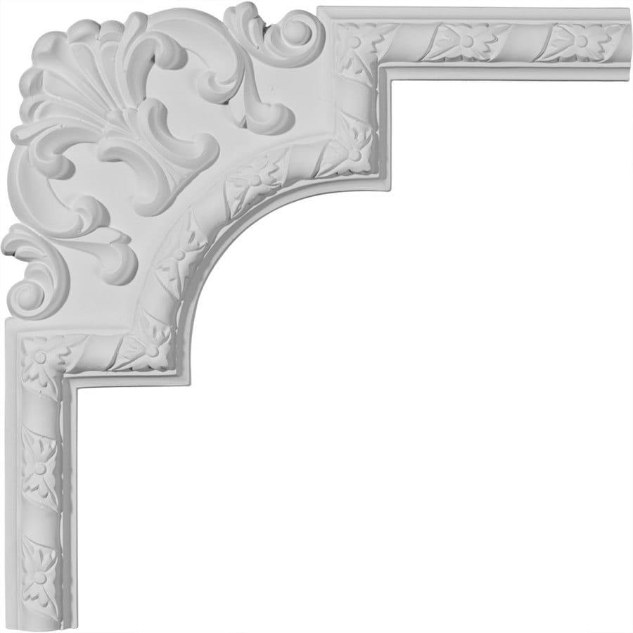 Ekena Millwork 13.5-in x 1.13-ft Polyurethane Panel Corner Picture Frame Moulding