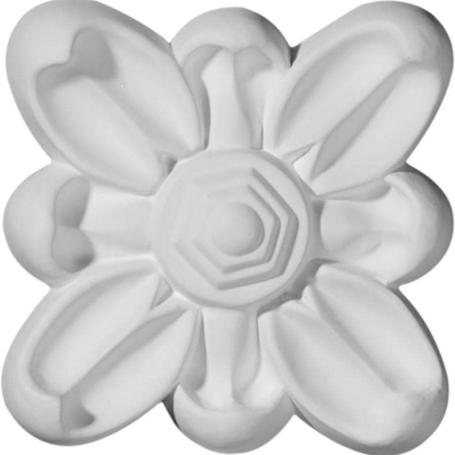 Ekena Millwork Emery Flower Polyurethane Rosette