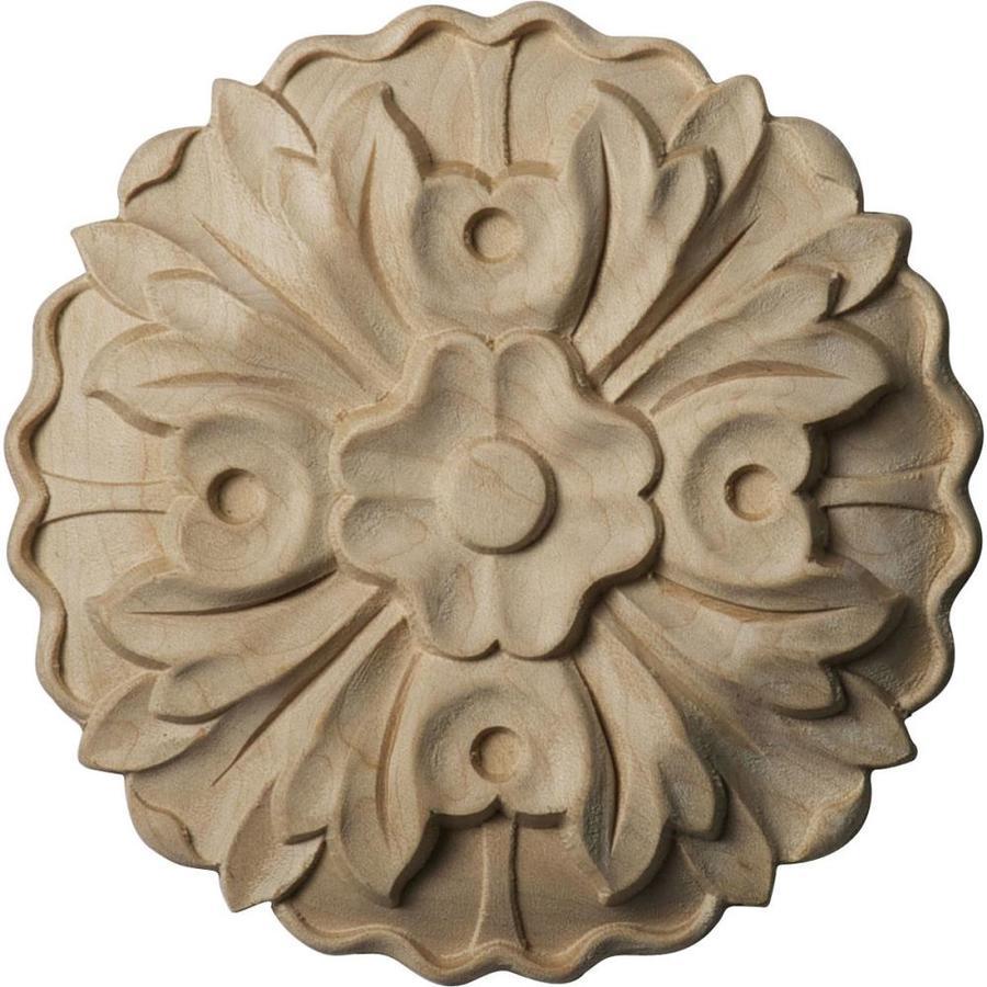 Ekena Millwork Kent Round Wood Rosette