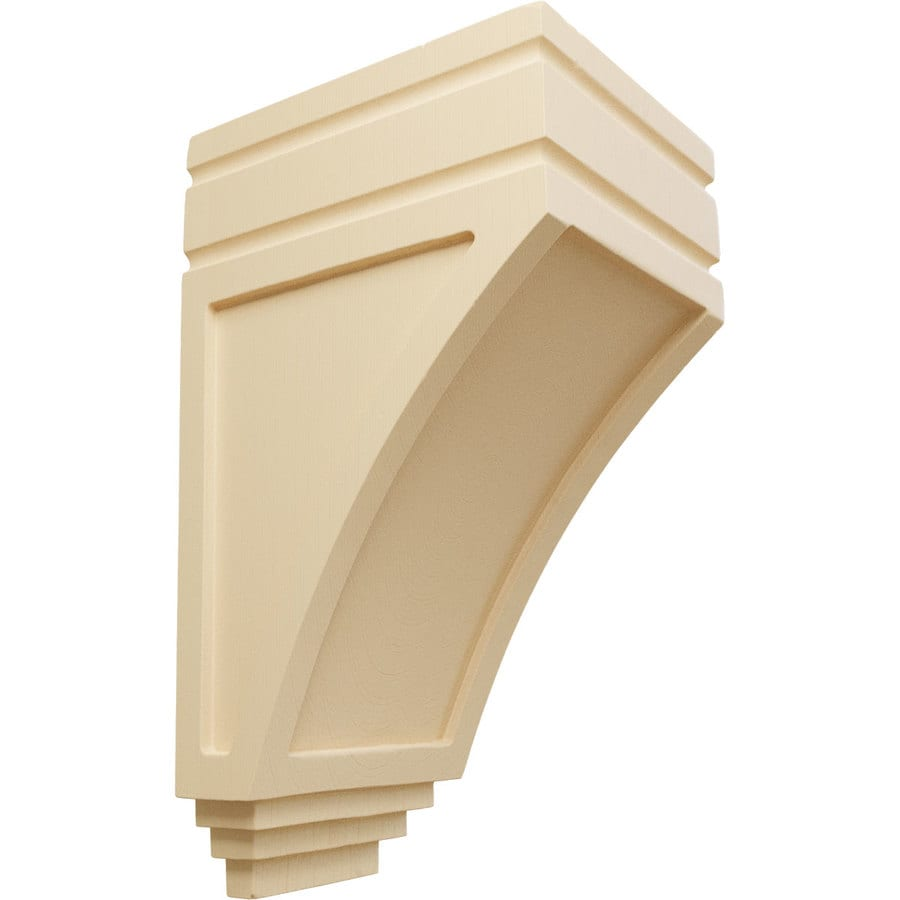 Ekena Millwork 5-in x 10.5-in Maple San Juan Wood Corbel