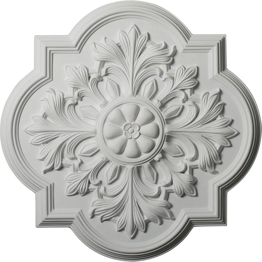Ekena Millwork Bonetti 20-in x 20-in Polyurethane Ceiling Medallion