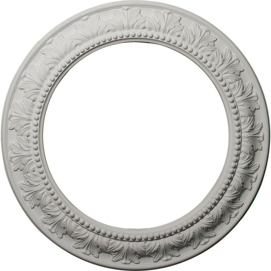 Ekena Millwork Wakefield 4-in x 44-in Full Polyurethane Ceiling Ring