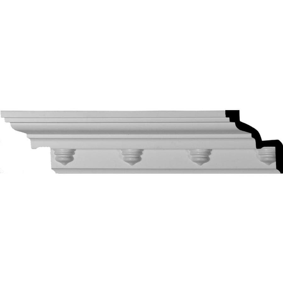 Ekena Millwork 3.5-in x 7.88-ft Polyurethane Nouveau Crown Moulding