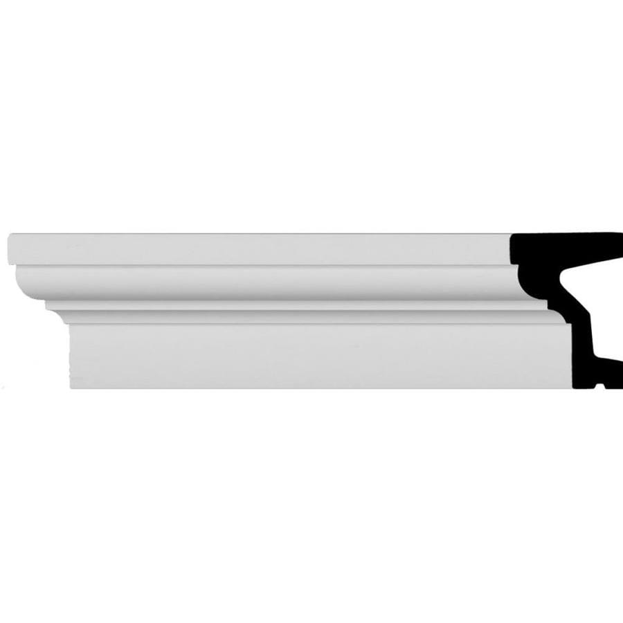 Ekena Millwork 5.5-in x 7.88-ft Polyurethane Standard Crown Moulding