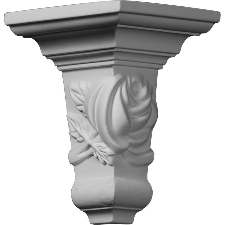 Ekena Millwork 3.75-in x 3.75-in Polyurethane Outside Corner Crown Moulding Block
