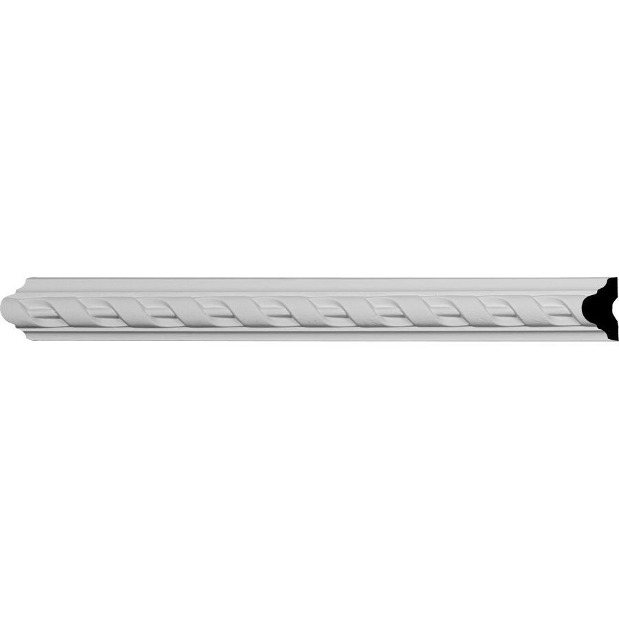 Ekena Millwork Valeriano 1.625-in x 8-ft Polyurethane Connector Wall Panel Moulding