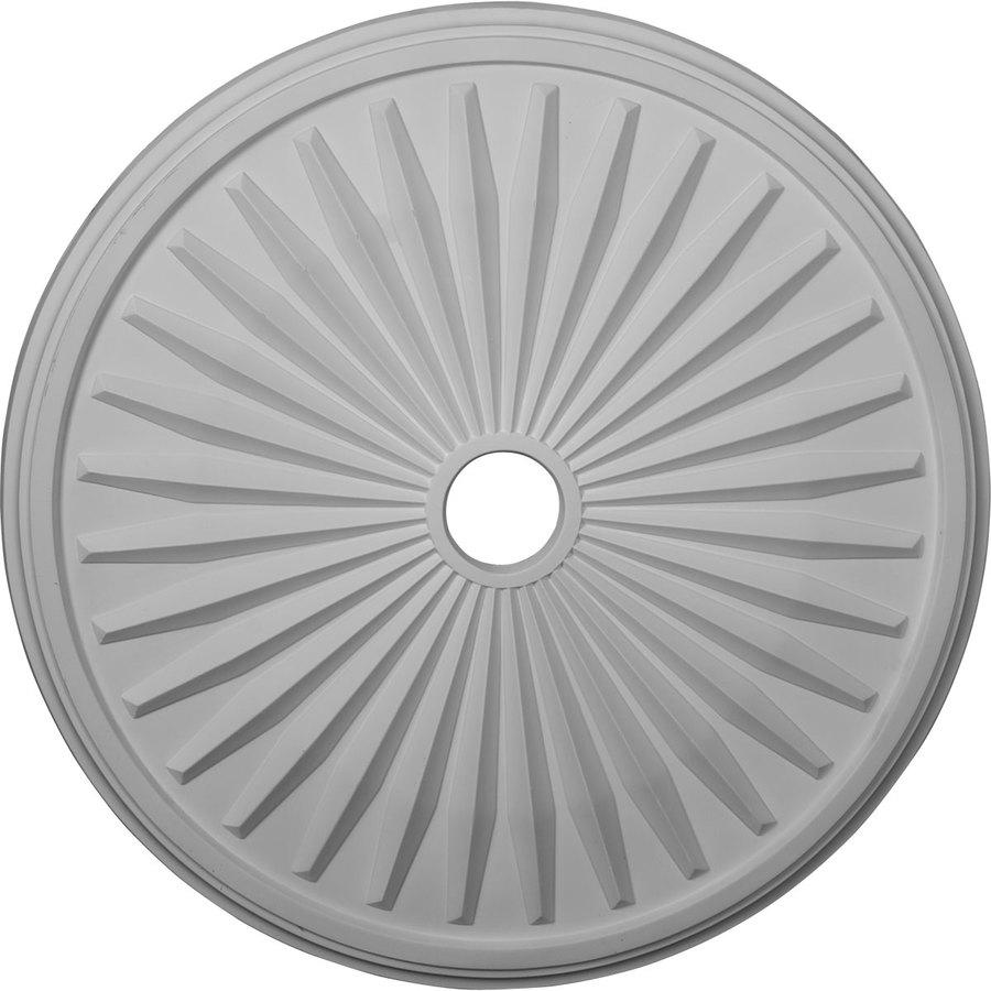 Ekena Millwork Leandros 33.125-in x 33.125-in Polyurethane Ceiling Medallion