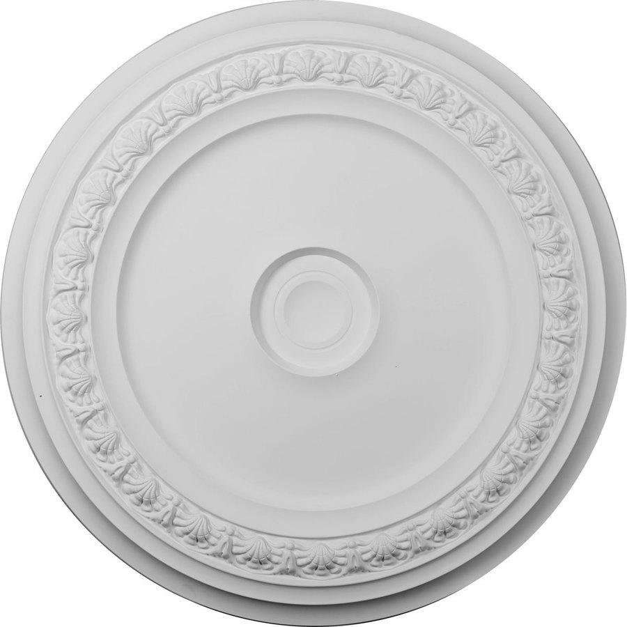 Ekena Millwork Carlsbad 31.125-in x 31.125-in Polyurethane Ceiling Medallion