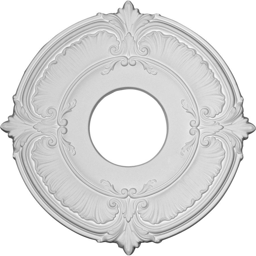 Ekena Millwork Attica 11.75-in x 11.75-in Polyurethane Ceiling Medallion