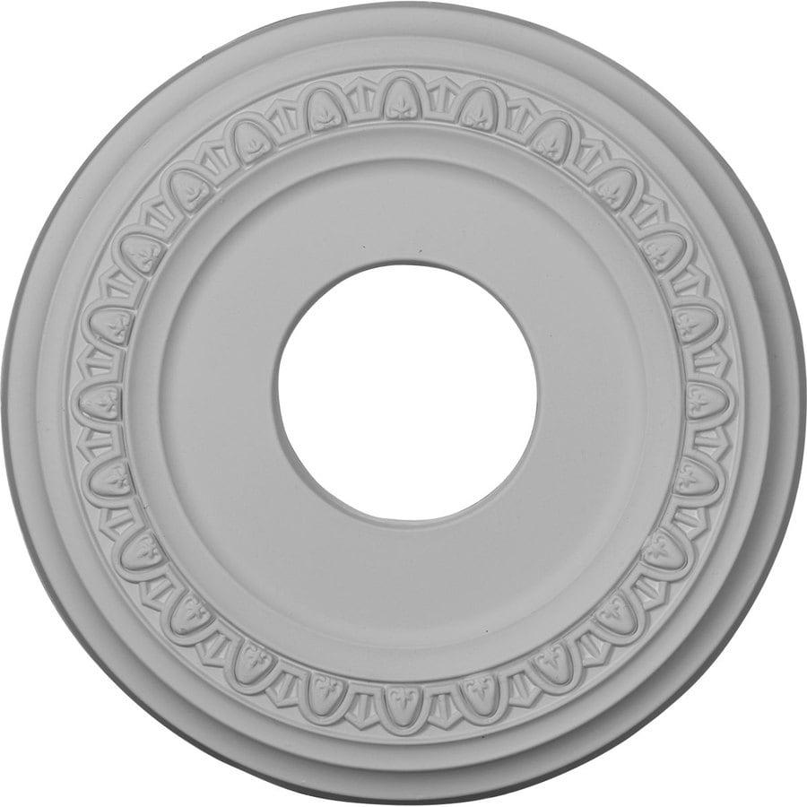 Ekena Millwork Jackson 12.25-in x 12.25-in Polyurethane Ceiling Medallion