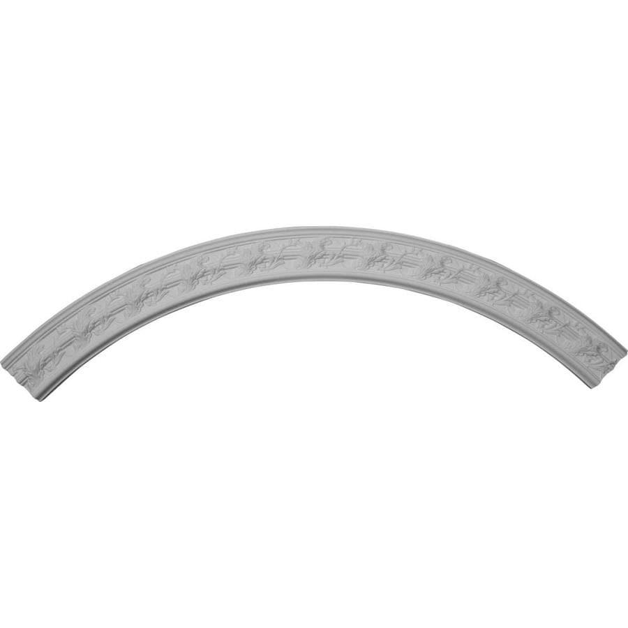 Ekena Millwork Tristan 4.38-in x 67.375-in Quarter Polyurethane Ceiling Ring
