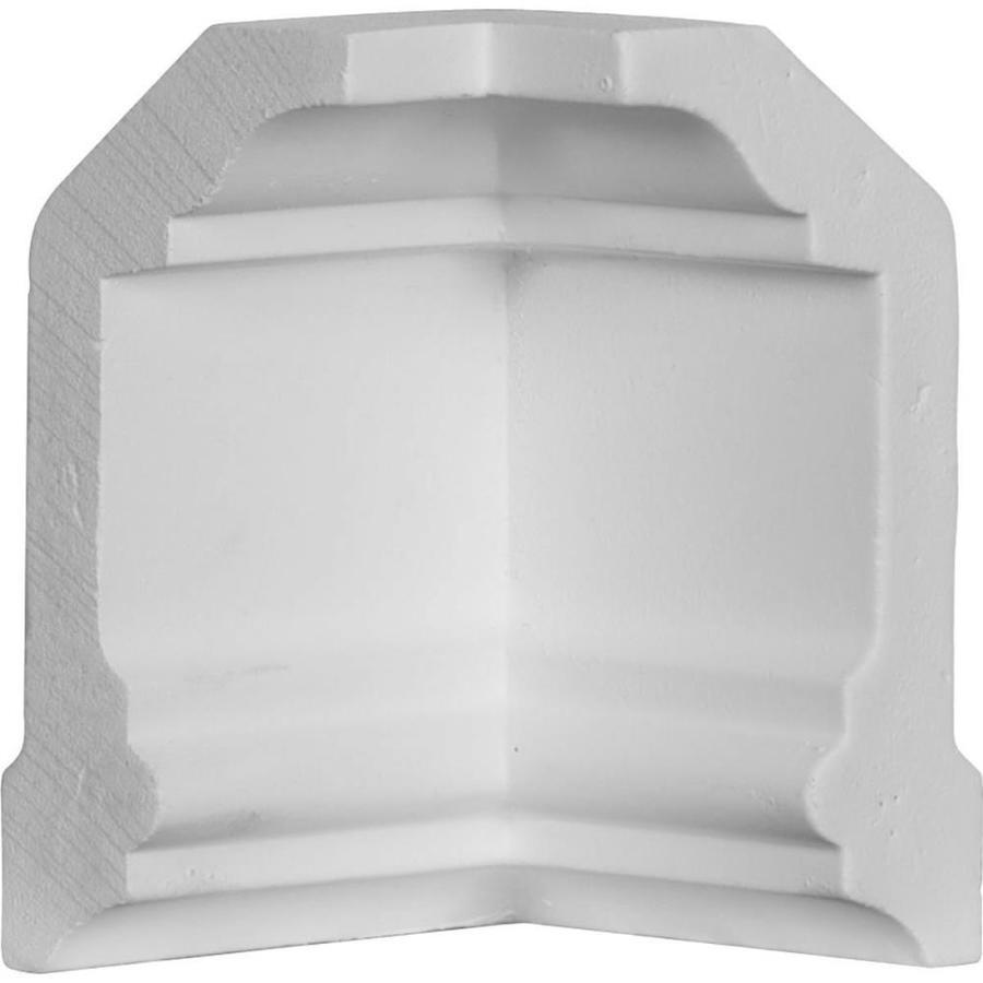 Ekena Millwork 2.25-in x 2.25-in Polyurethane Inside Corner Crown Moulding Block