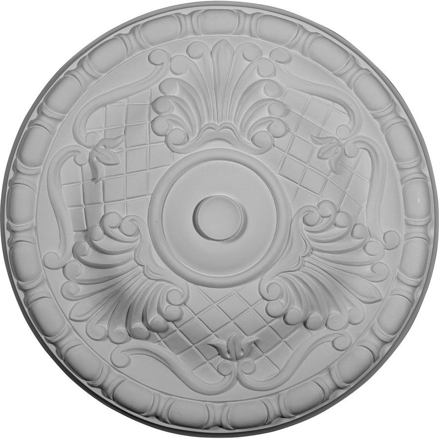Ekena Millwork Amelia 15.75-in x 15.75-in Polyurethane Ceiling Medallion