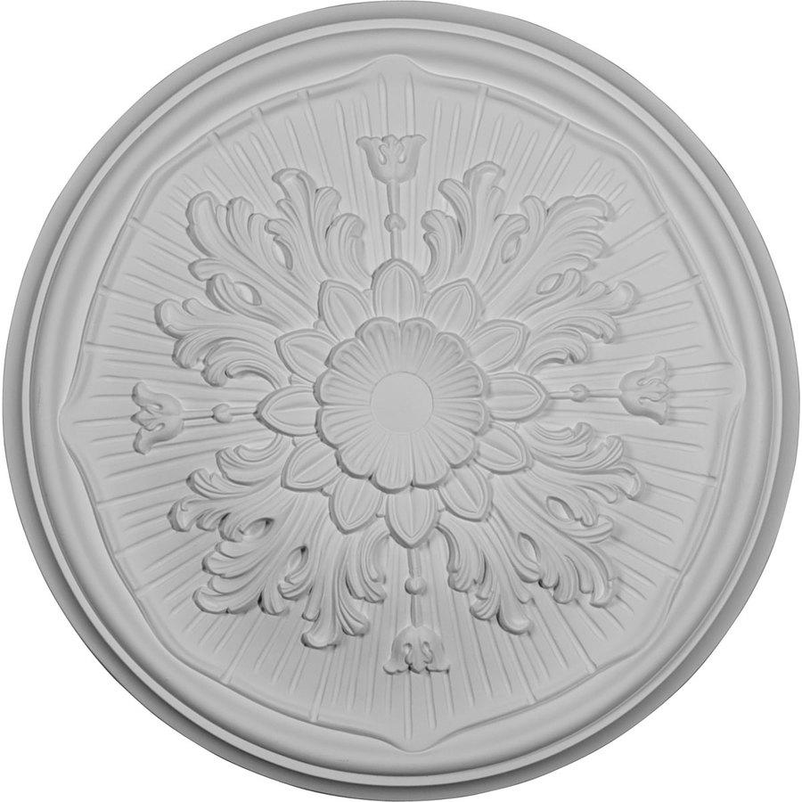 Ekena Millwork Luton 15.75-in x 15.75-in Polyurethane Ceiling Medallion