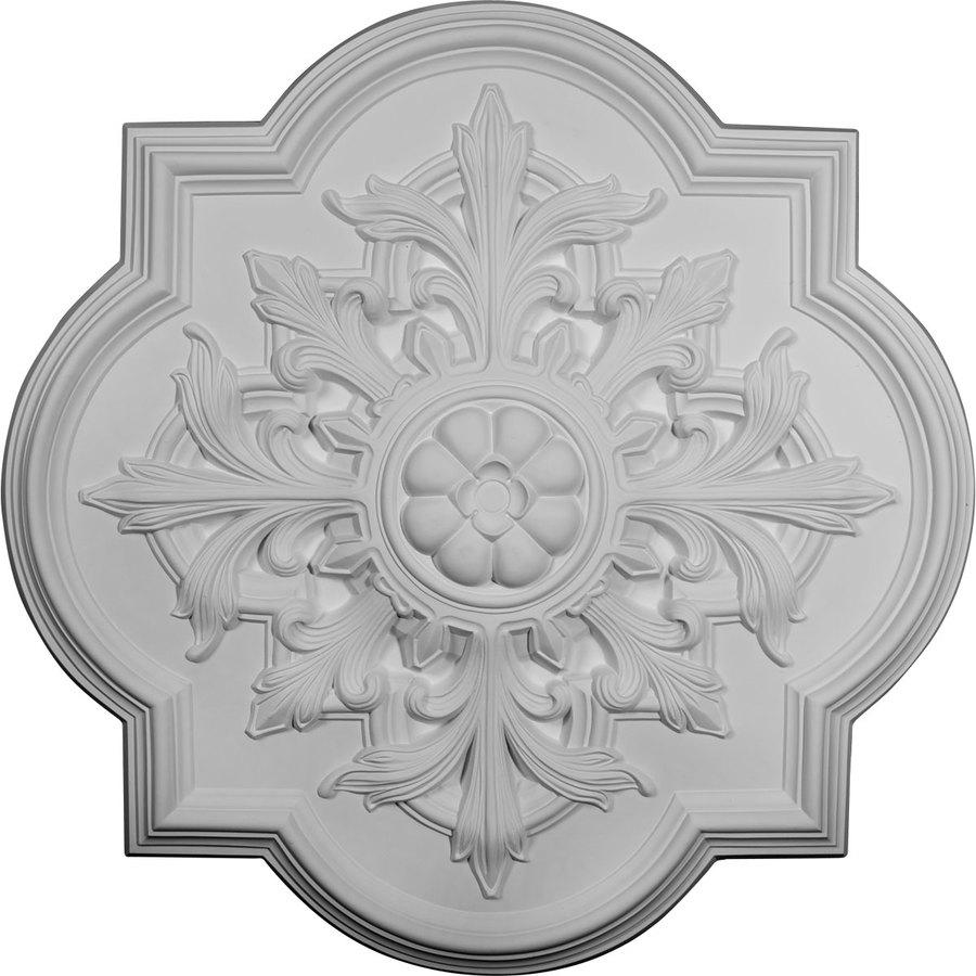 Ekena Millwork Bonetti 31.25-in x 31.25-in Polyurethane Ceiling Medallion