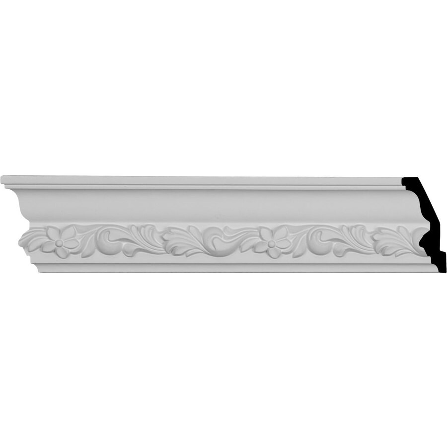 Ekena Millwork 3.25-in x 7.92-ft Polyurethane Sussex Crown Moulding