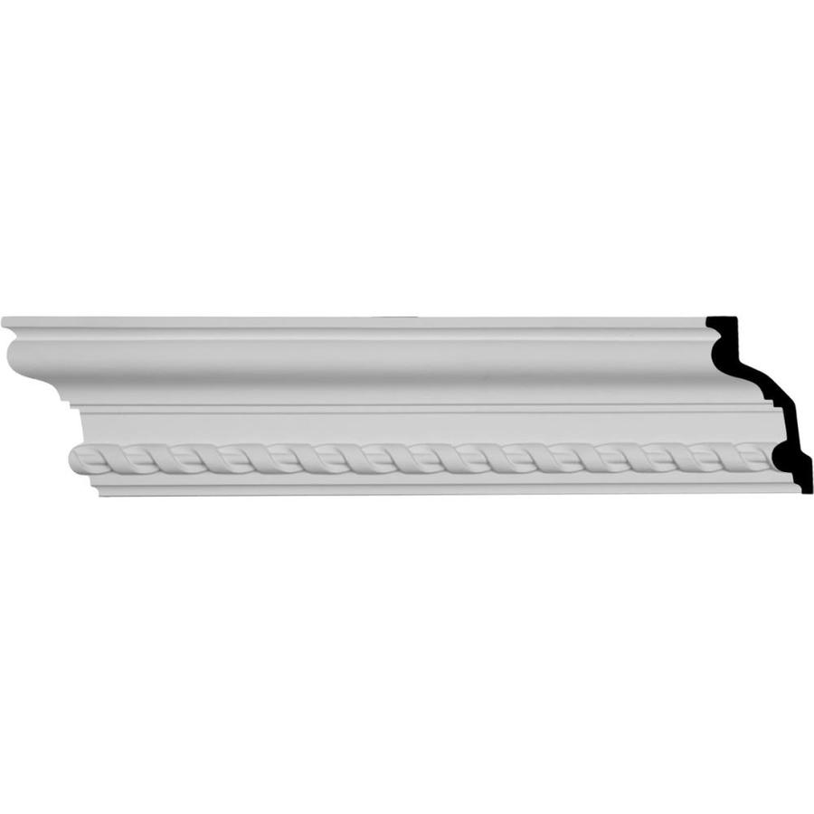 Ekena Millwork 4.125-in x 8.02-ft Polyurethane Jackson Crown Moulding