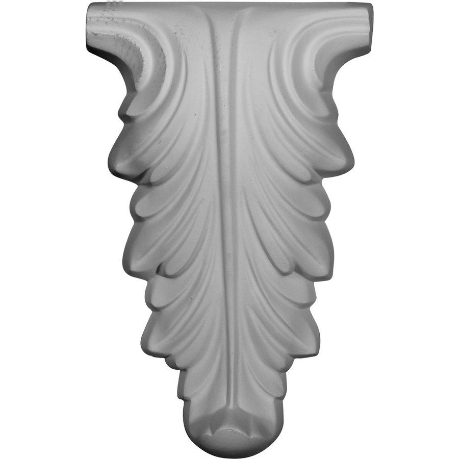 Ekena Millwork 6.375-in x 10.375-in Leaf Urethane Applique