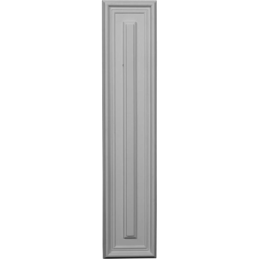 Ekena Millwork Legacy 22.625-in x 0.4-ft Smooth Primed Polyurethane Wainscoting Wall Panel