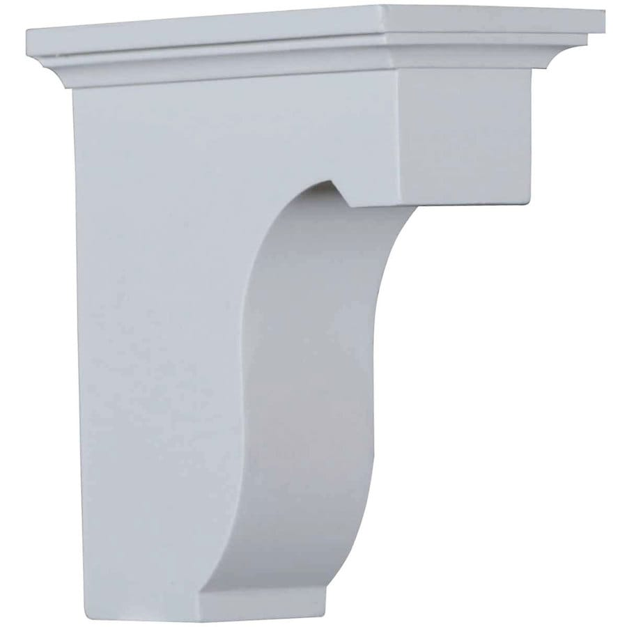 Ekena Millwork 2.875-in x 6-in White Legacy Urethane Corbel