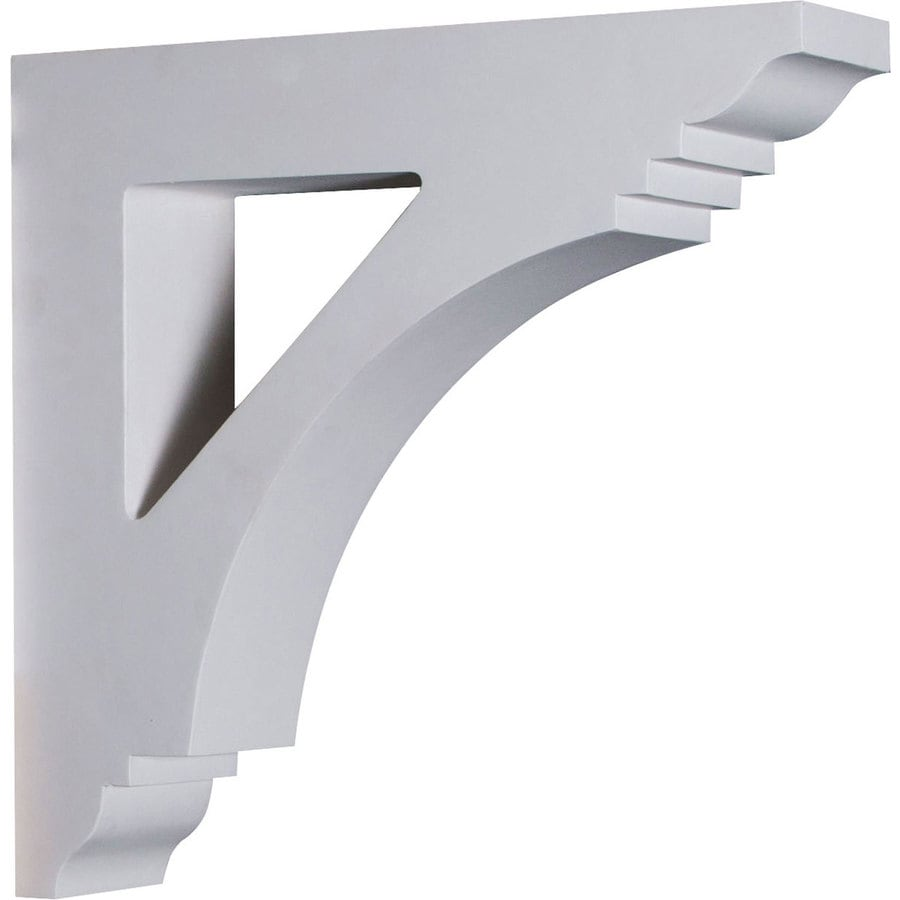 Ekena Millwork 4-in x 16-in White Imperial Urethane Corbel