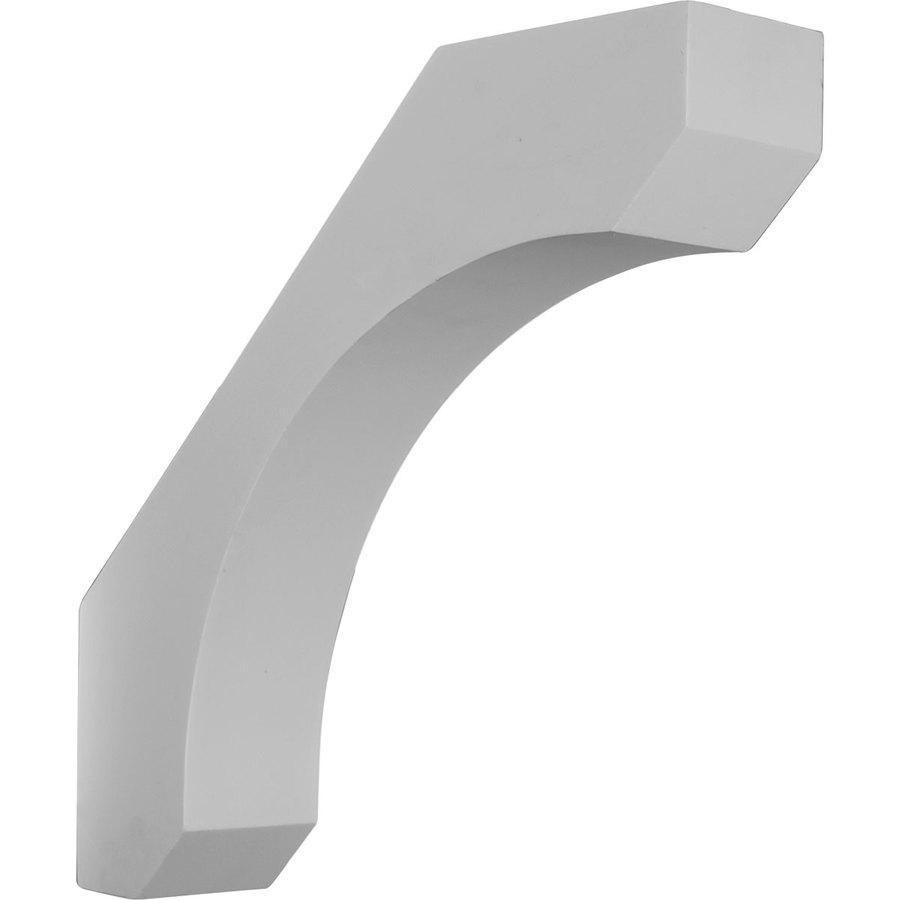 Ekena Millwork 5.5-in x 18-in White Legacy Urethane Corbel