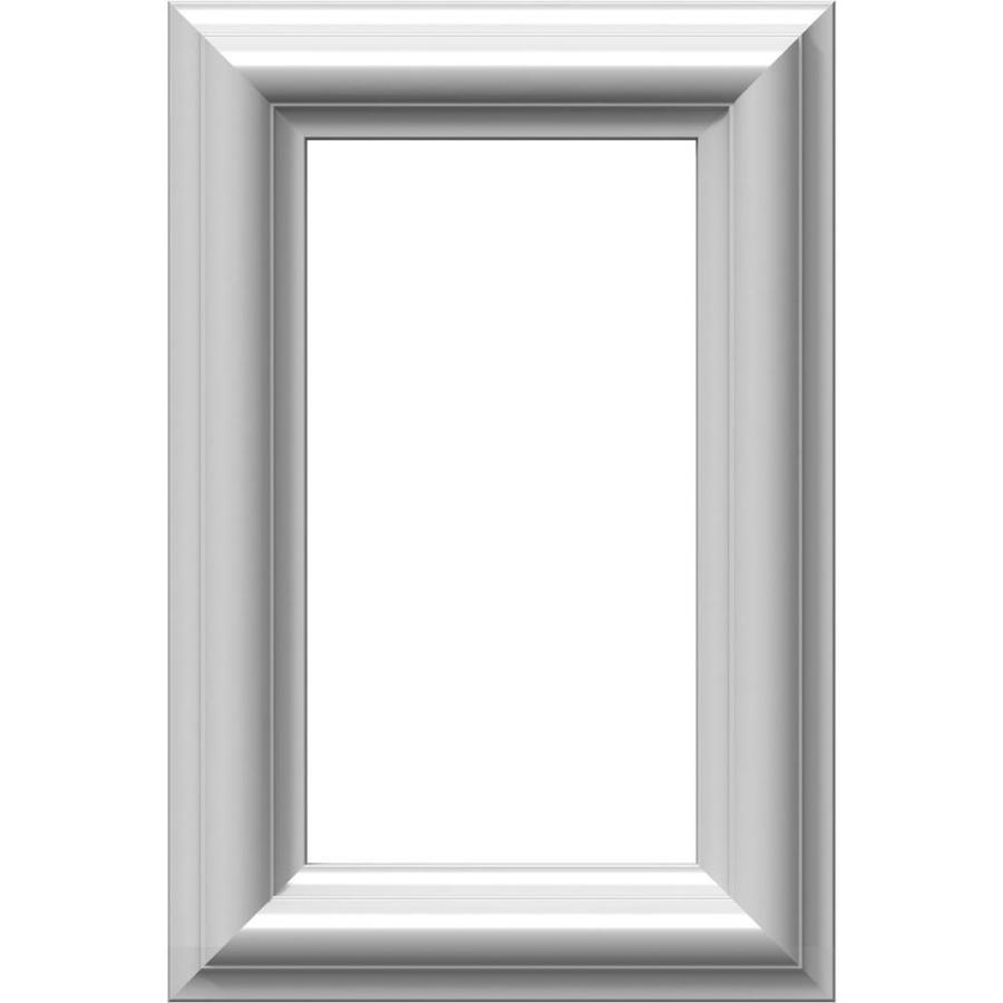 Ekena Millwork Ashford 8-in x 1-ft Polyurethane Preassembled Picture Frame Moulding