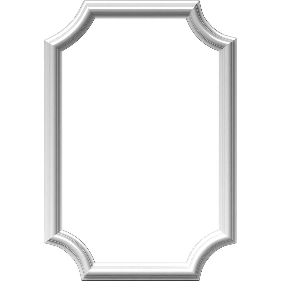 Ekena Millwork Ashford 16-in x 2-ft Polyurethane Preassembled Picture Frame Moulding