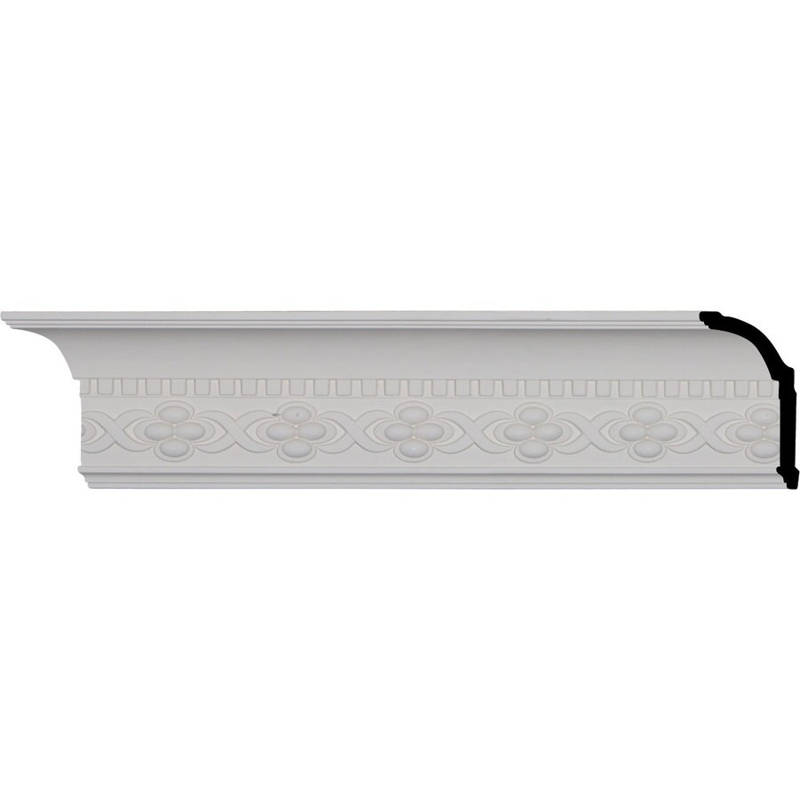 Ekena Millwork 4.375-in x 8-ft Polyurethane Dentil Crown Moulding