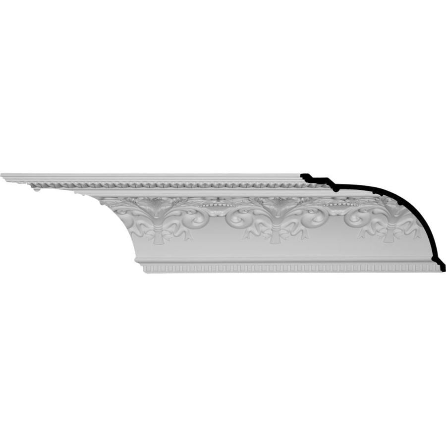 Ekena Millwork 11.375-in x 7.99-ft Polyurethane Sydney Crown Moulding