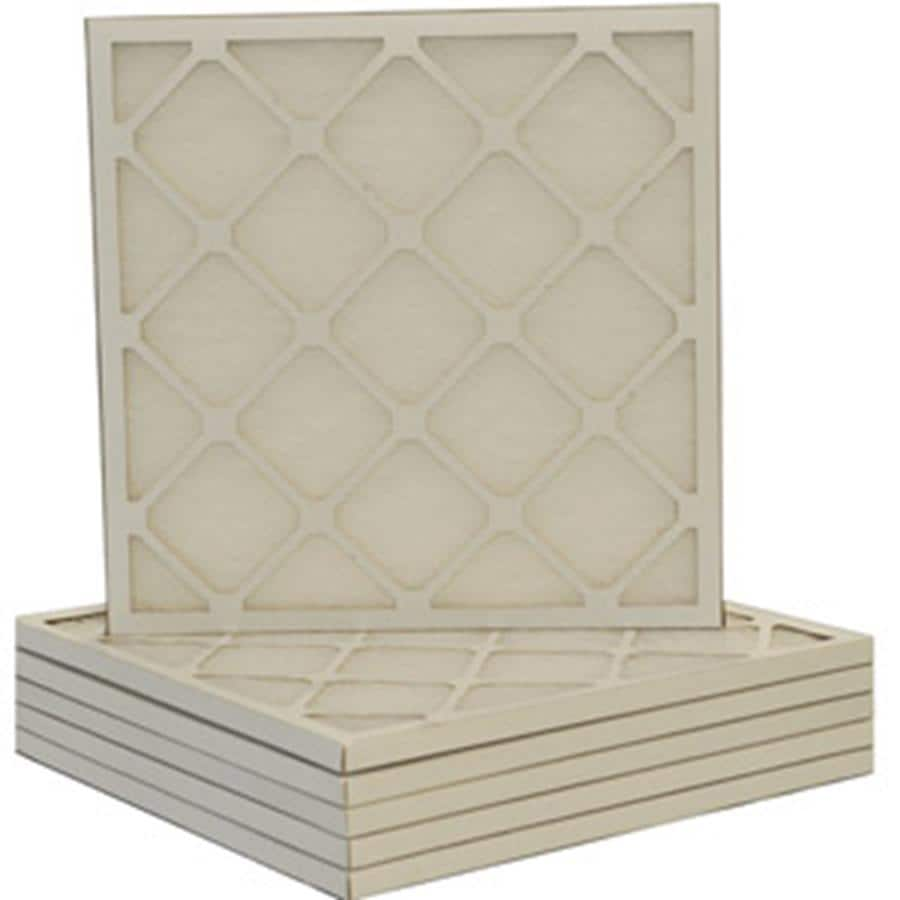 Filtrete 6-Pack Fiberglass Ready-to-Use Industrial HVAC Filters (Common: 21.5-in x 23.5-in x 1-in; Actual: 21.375-in x 23.375-in x .75-in)